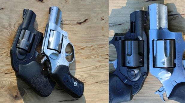 The Ruger LCR and SP 101