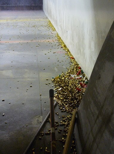 empty cartridges