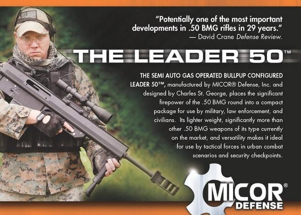 MICOR Leader 50 .50 BMG Rifle ad