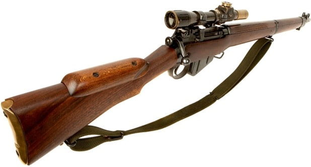Lee Enfield Sniper rifle