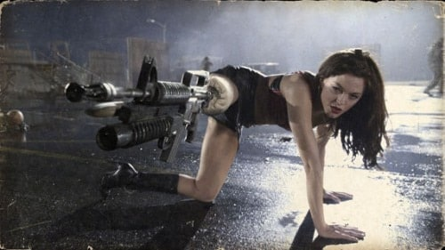 M203 Prosthetic Leg Gun from Planet Terror
