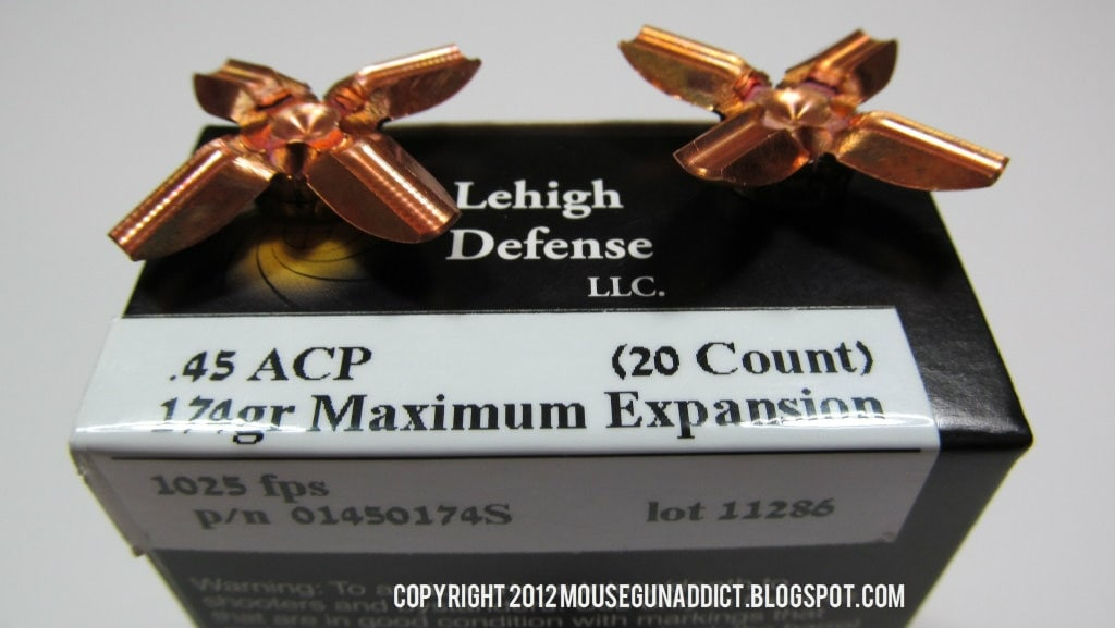 Lehigh Maximum Expansion ammunition