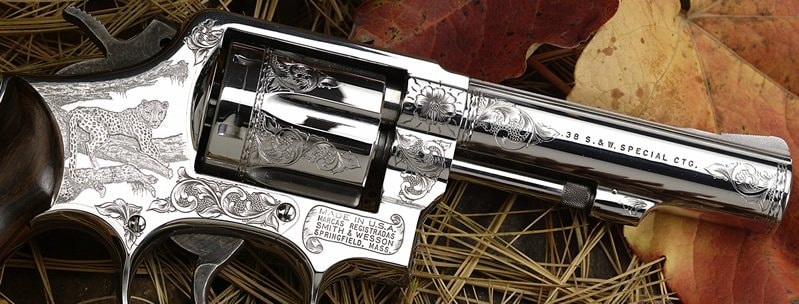 Smith & Wesson Factory Engaving