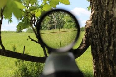 Leupold FX-1 Rimfire scope crosshairs