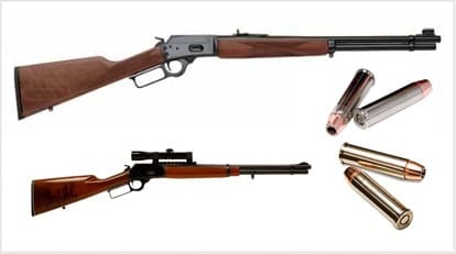 lever action with magnum