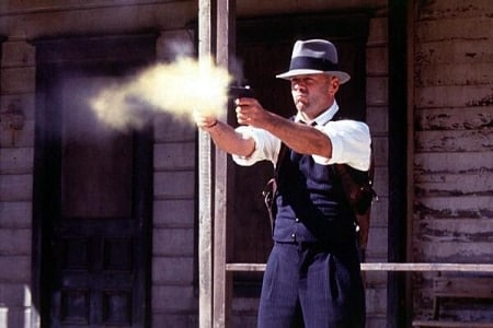 wild western shooting gun