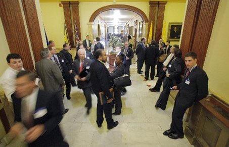 lobbying in municipal building