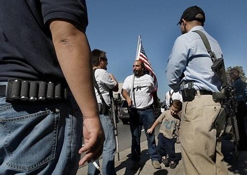 2nd amendment rally outdoors