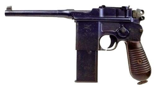 ww2 luger pistol