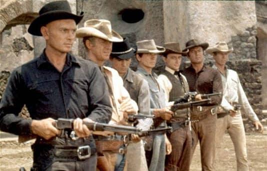 d7aed951 Gun Duel Between Steve McQueen and Yul Brynner No Contest - Guns.com