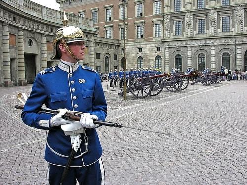 Swedish Royal Guard.
