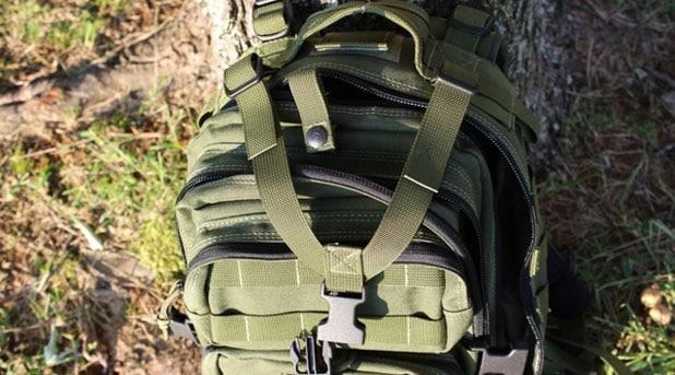 The Falcon II's strap
