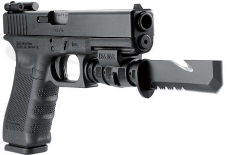 adding knife bayonet to pistol