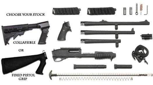 remington 870p parts chart