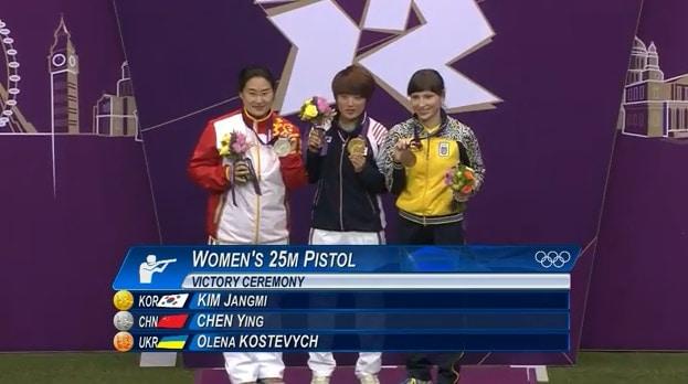 womens 25m pistol winners