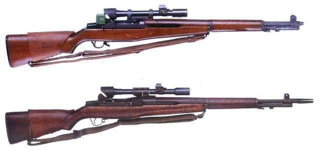 rifles with scopes