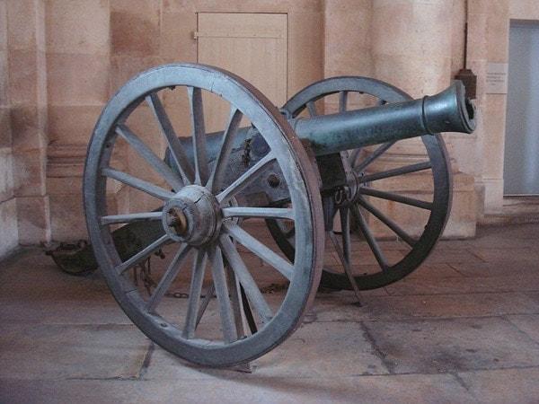 Canon obusier de campagne de 12 modèle 1853