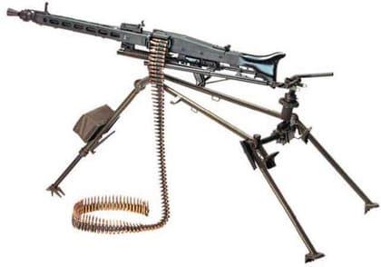 German MG3 machine gun.