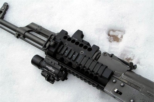 Picatinny Love: Midwest Industries AK Rails - Guns com