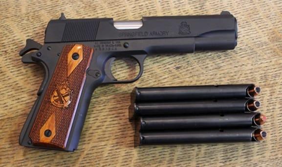 Gun Review - Springfield Armory Mil Spec 1911 :: Guns com