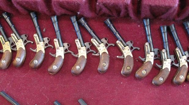 mini pinfire pistols