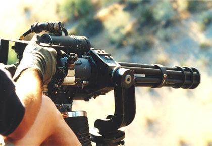 M 134 Minigun.