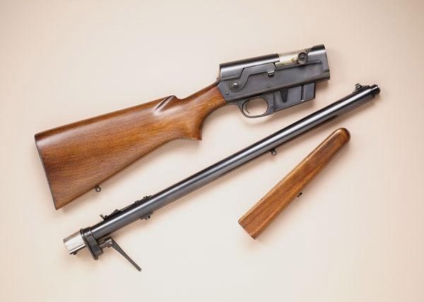 Remington Model 8 Woodmaster takedown.