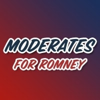 moderates for romney sign
