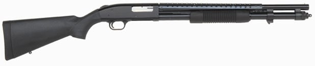 Mossberg 590 with a heat shield.