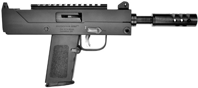 Masterpiece Arms' MPA57SST: a MAC in 5.7mm - Guns.com