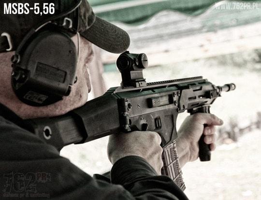 "Polish Łucznik ""Archer"" Arms MSBS-5,56"
