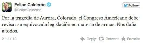 Calderó twitter
