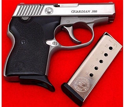 North American Arms NAA Guardian .380 ACP Auto Pistol Concealed Carry Pocket