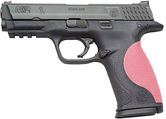glock with pink grip