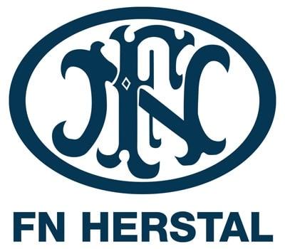 fn herstal logo on white background
