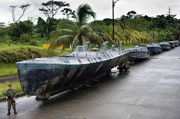 cocaine boat