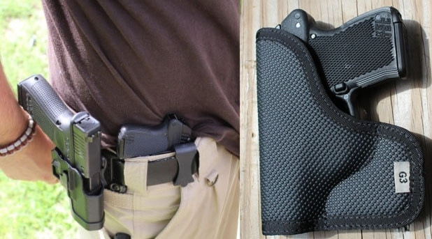 Versacarry and Desanti Holsters