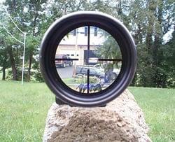 Rifle scope parallax