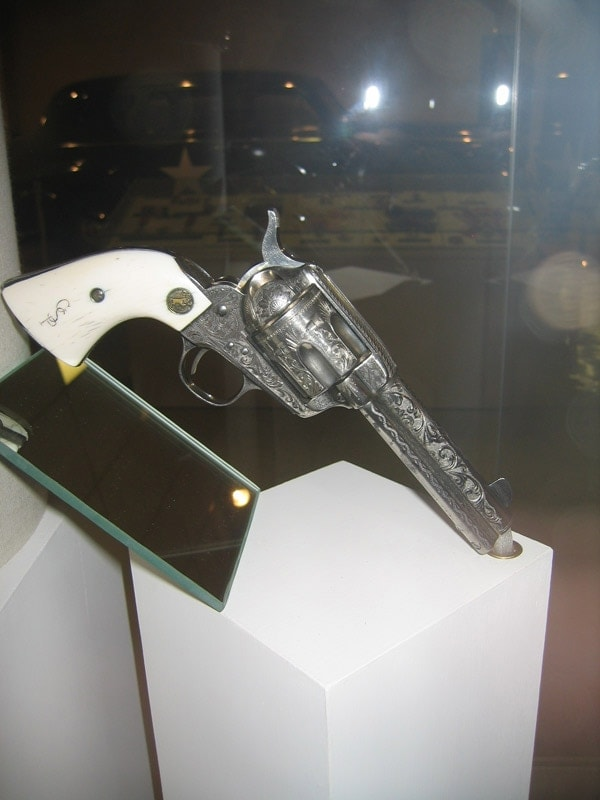 george pattons revolver on display