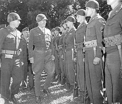 general george patton with troops