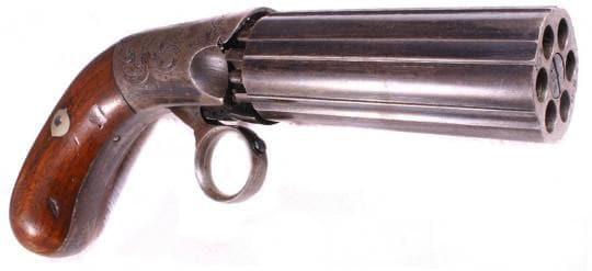 pepperbox handgun