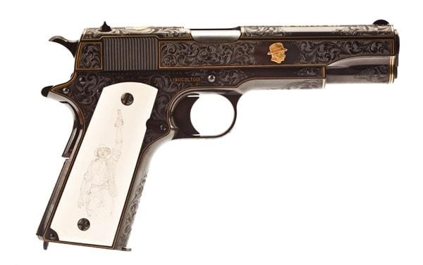 1911 Master Engraved Colt