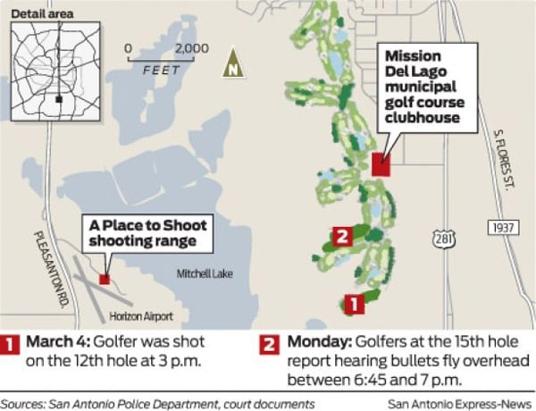 golf course shooting timeline