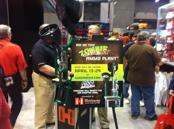 Hornady Zombie Max Ammo Plant at the 2012 NRA Show.