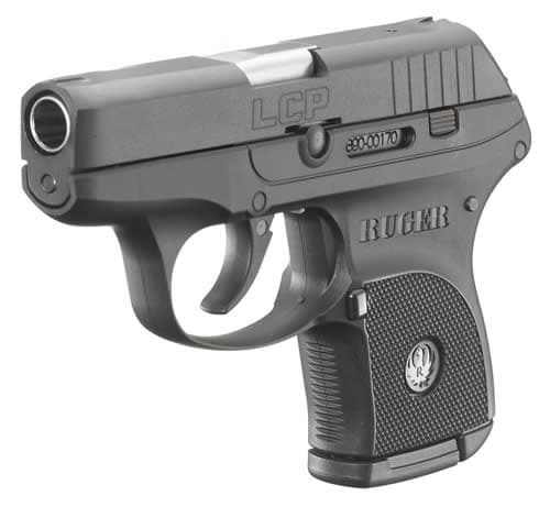 ruger lcp on white background