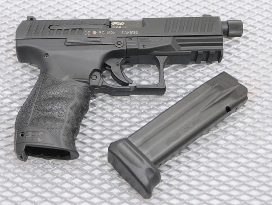 ppq sd with extended threaded barrel