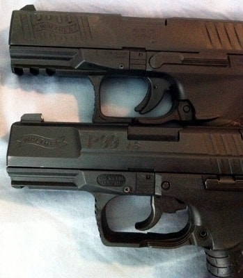 two walther ppqs stacked up
