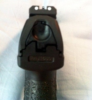 barrel view of walther ppq
