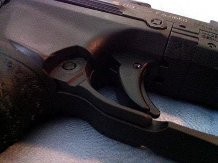 closeup photo of walter ppq trigger