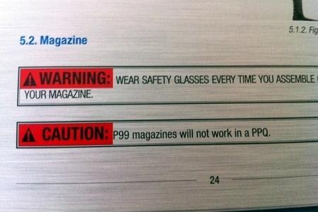 walther p99 magazine box